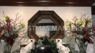 Rebecca Robeson Inspired / 2016 Christmas Mantels / Rustic And Natural