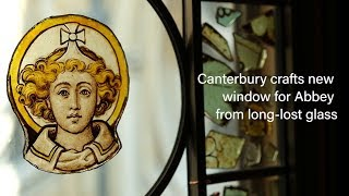 Cathedral crafts new window for Abbey from long-lost glass