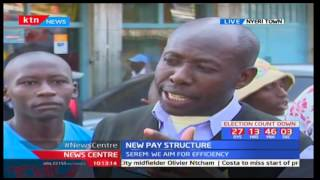 Views and opinions from Nyeri town residents regarding the new pay structure