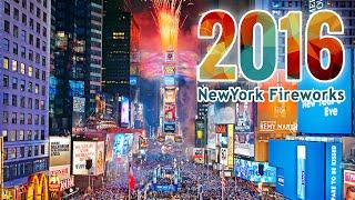 Фейерверк, салют в Нью-Йорке 2016 Новый Год \ NewYork New Year