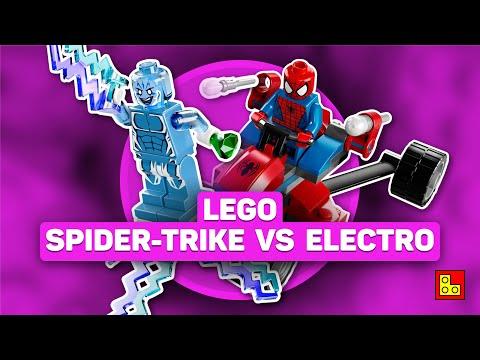 ◉ Обзор LEGO Marvel - Spider-Man vs. Electro stop motion build review┃ЛЕГО Марвел Человек-паук 76014 (видео)