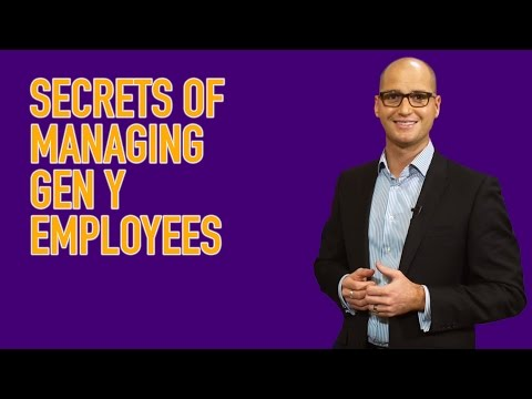 Video Leadership Nuggets - The Secrets of Managing Gen Y Employees (with Michael McQueen)