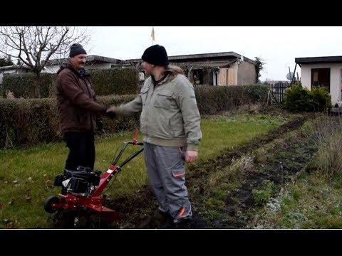 Gartenfräse / Bodenfräse Motorhacke für den Garten Teil 2