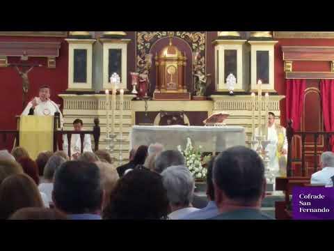 Bodas de plata del Padre Luis Palomino Millán en la Divina Pastora