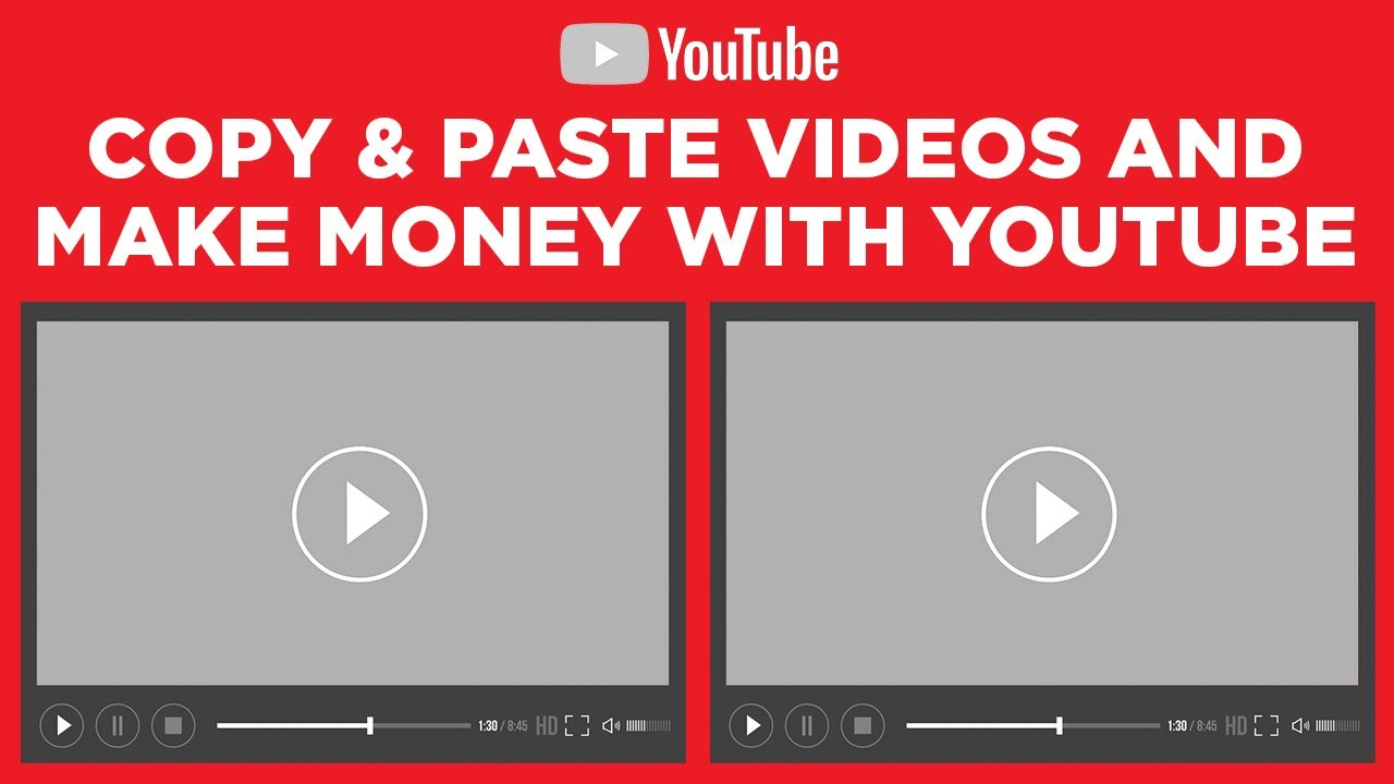 Copy & Paste Videos and Make $100 to $300 Daily - FULL TUTORIAL (Generate Income Online) thumbnail