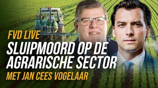 Sluipmoord op onze agrarische sector (Met Jan Cees Vogelaar) - FVD Journaal #28