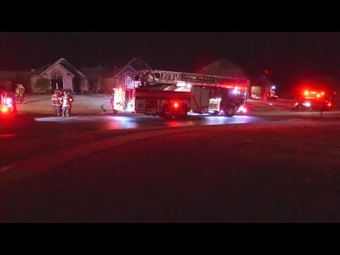 Family safe following house fire