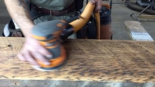 How To Sand And Prep Reclaimed Wood