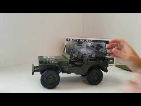 Banggood 1/10 scale jeep willy