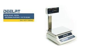 Retail Scale - Digital - 330*230mm Platform - 0.1g to 30.0kg     SKU #D1159540