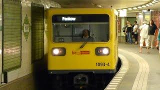 preview picture of video 'U2 Potsdamer Platz (U-Bahn Berlin)'