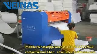 epe cutting machine from Veinas