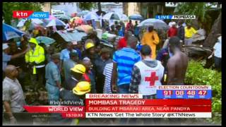 Tragedy: 6 people feared dead as Red Cross leads rescue operations in Mombasa
