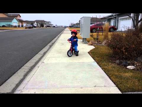 riding chicco red bullet balance bike