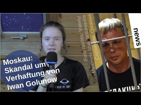 Moskau: Skandal um Verhaftung von Iwan Golunow [Video]