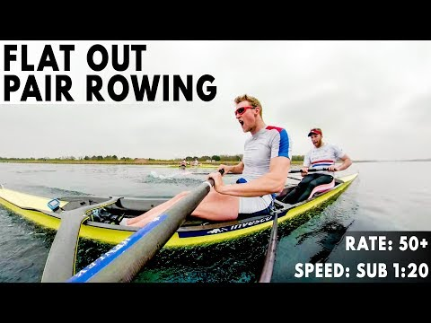 FLAT OUT PAIR ROWING | BRITISH ROWING TRIALS PREP PT. 2