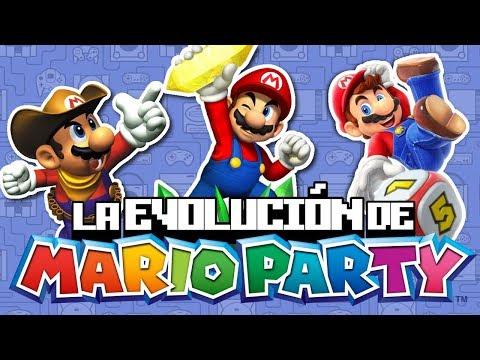 La Evolución de Mario Party