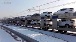 Tovorni vlak s pet milijonskim tovorom