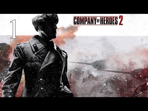 Прохождение Company of Heroes 2 #1 - Сталинградский вокзал