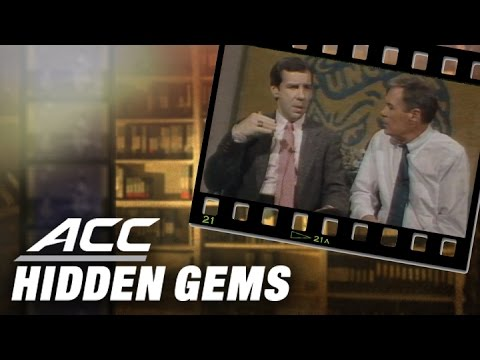 "Video: Dean Smith Introduces Roy Williams to ACC Fans on ""The Dean Smith Show"" (1988)"