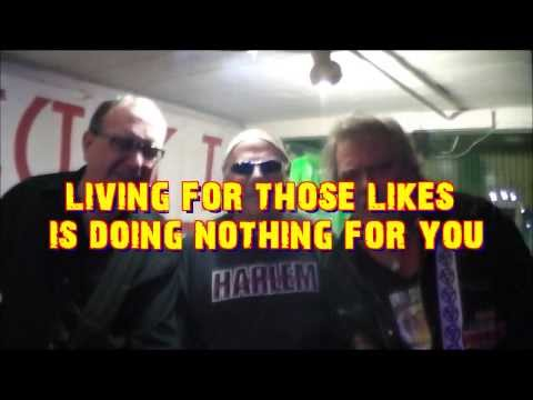 NOISE POETS - Don't Clog My News Feed (Facebook Rebellion) - Original Music Video