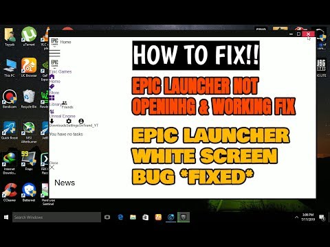Epic Games Launcher Connection Issues
