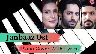 Janbaaz - OST - Piano Cover With Lyrics   - YouTube