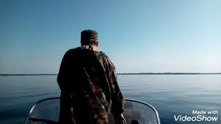 Топозеро хариус в сентябре