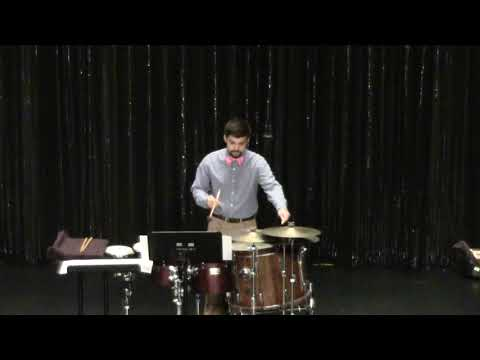 This is a performance of The Discordant Psyche for multi-percussion that I played my Junior year of college.