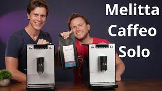 Melitta Caffeo Solo Kaffeevollautomat im Test mit unterschiedlichen Einstellungen