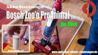 Akku-Staubsauger Bosch Athlet Zoo'o ProAnimal BCH6ZOOO im Test