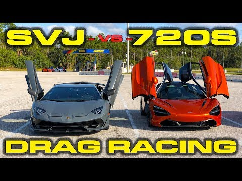Mclaren 720s Vs Aventador Svj Drag Race Is Brutal Disappointment