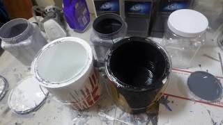 CHEAP DIY SCREEN PAINT MIXES VS OUR TECHNOLOGY ON PROJECTION SCREEN ON A 200 LUMEN PROJECTOR