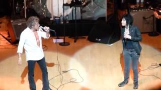 """Summertime Blues"" Roger Daltrey & Joan Jett@Kimmel Center Philadelphia 7/28/14"