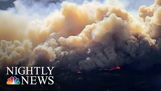 Massive Wildfires Continue To Threaten California | NBC Nightly News