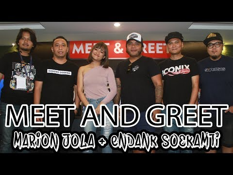 Unch.. Gemes ama Marion Jola!!! Meet and Greet Supermusic Superfest - Metropolitan News