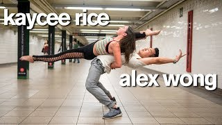 Superstars Kaycee Rice and Alex Wong Crush 10 Minute Photo Challenge (World of Dance)