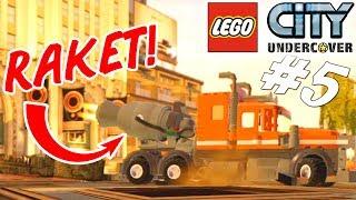 RAKET LASTBIL! - LEGO City Undercover Dansk Ep 5 [PS4 Pro]