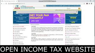 How to download & Open TAX AUDIT Form 3CB-3CD Assessment year 2020-21