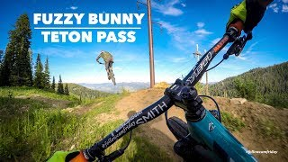 Riding Fuzzy Bunny off of Teton Pass for an episode of #followcamfriday
