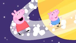 Peppa Pig English Episodes - Peppa Blasts into Space! Peppa Pig Official