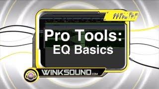 Pro Tools: EQ Basics | WinkSound