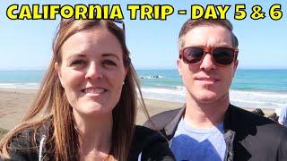 California Trip - Day 5 & 6 - Morro Bay, Montana De Oro, and More!  - Magical Mondays #139