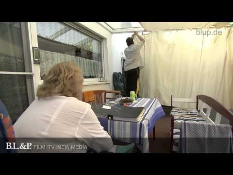Nachbarn verbieten Dirk und Andrea das Rauchen im eigenen Haus - Rohschnitt bluptv