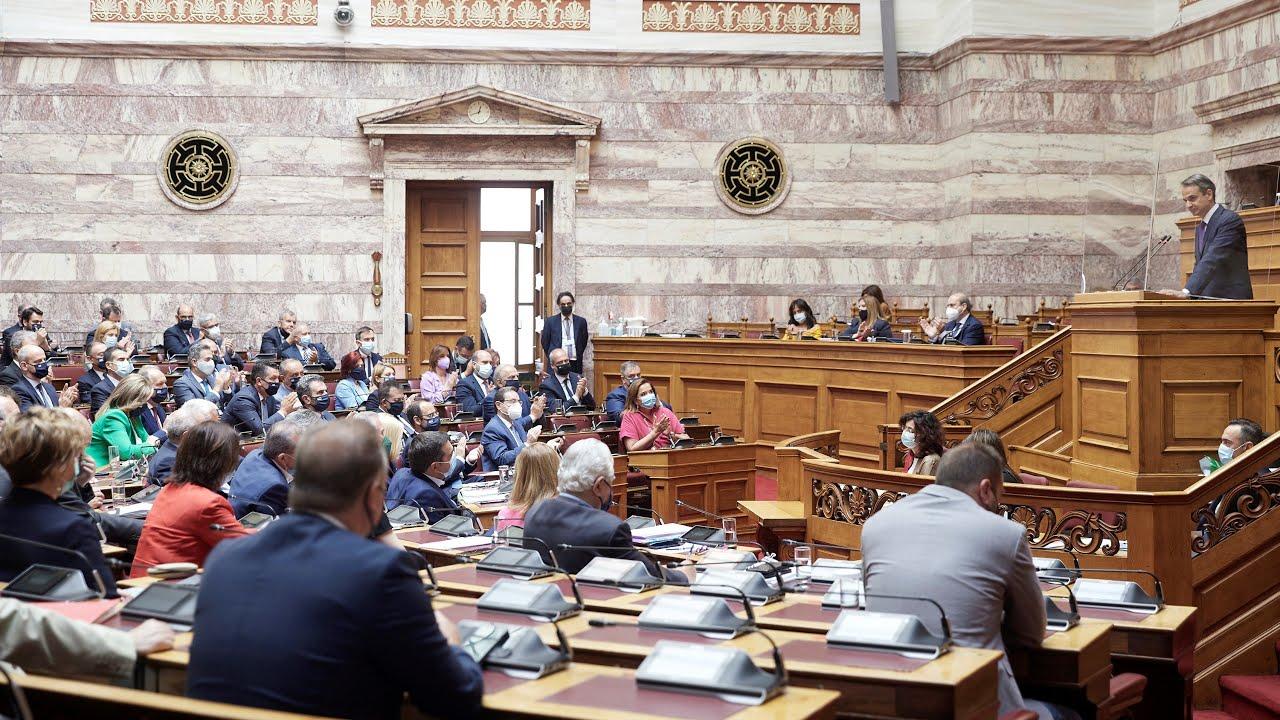 Δευτερολογία του Πρωθυπουργού Κ.Μητσοτάκη στη Βουλή για το νομοσχέδιο για την προστασία της εργασίας