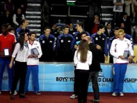 Mundial Menor: Ramiro Núñez, mejor receptor del torneo