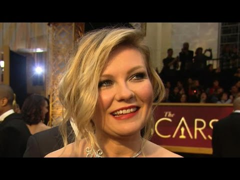 Kirsten Dunst interview at the Oscars