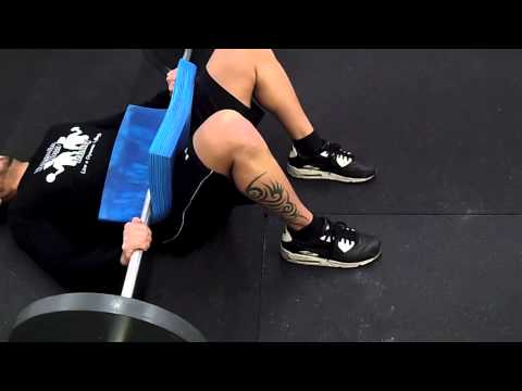How to do a Barbell Glute Bridge