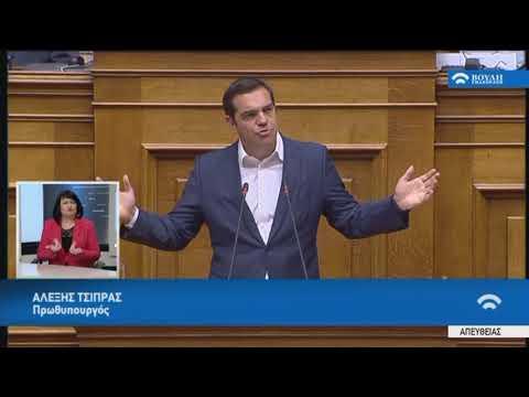 Α.Τσίπρας (Πρωθυπουργός)(Συζήτηση προ Ημερ.Διατάξεως γιά την Οικονομία)(05/07/2018)