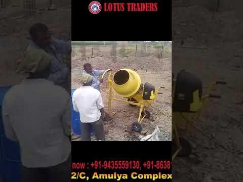 Mini Concrete Mixer 80kg Classic